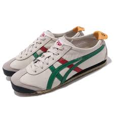 Onitsuka Tiger Size Chart Uk Details About Asics Onitsuka Tiger Mexico 66 Grey Green Red Men Running Shoes Dl408 1684