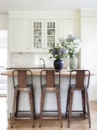 white rustic bar stools. Brilliant Rustic COM  Lovely White Kitchen With Copper Toned Industrial Chair  Stools  Adds Lots Of Warmth For White Rustic Bar Stools
