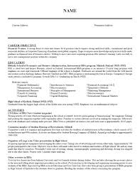 Examples Of Resumes Guide To Cover Letters And Fordham Law