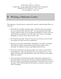 life skills writing sos how to improve your business letter 5