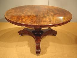 georgian mahogany breakfast table antique circular or round dining throughout plan 10
