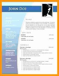 2007 Word Resume Template Microsoft Resume Templates Resume Wizard For Ms Microsoft Word
