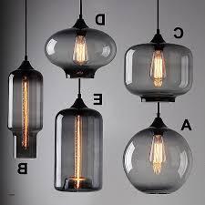 hand blown glass lighting fixtures. Modern Pendant Light Fixtures Elegant Industrial Smoky Grey Glass Shade Loft Cafe Hand Blown Lighting