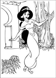 Here are 10 princess jasmine coloring pages to print featuring aladdin, genie, abu, the magic carpet and her beloved father. The Philosopher S Wife Free Printable Disney Coloring Pages