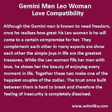 Gemini Man And Leo Woman Love Compatibility Pisces