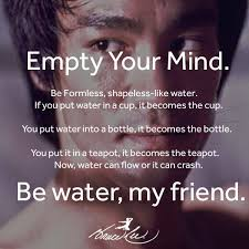 Bruce Lee Water Quote Extraordinary Bruce Lee Quote Be Like Water