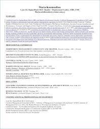 Six Sigma Black Belt Resume Kantosanpo Com