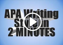 Writing Style Apa Guide Based On The 6th Edition Subject And