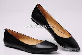 flat black dress shoes all women dresses