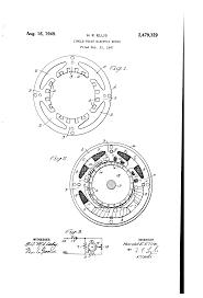 Motor patent us2479329 single phase electric motor patents single phase electric motor drawing