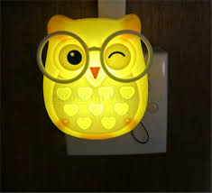 por kids wall lights lots. Cute Cartoon Owl Led Mini Night Light Auto Control LED Sensor Lights Child Kids Baby Soft Lamp Bedroom Lighting Wall Decoration-in From Por Lots L