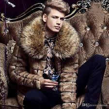 caf431 new men luxury faux fur coat m 3xl fluffy coat fake fur coats gy coat long sleeve fluffy coat fake fur coats mens faux fur coats