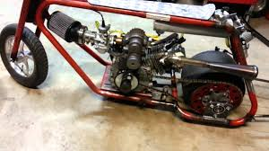 roots supercharged mini drag bike new dupor engine youtube