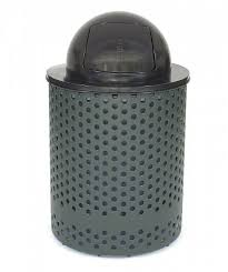 tuffclad litter receptacle dome cover