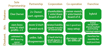 forms of ownership jmcintyre bbi2o types of businesses