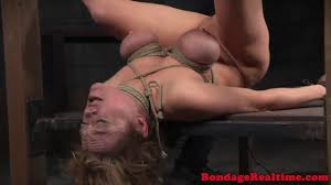 Spreadeagle milf punished with gstring tie on GotPorn 6948380