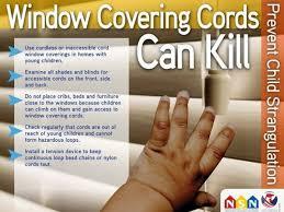 Child Safety  Spectrum BlindsWindow Blind Cord Safety