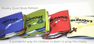Quiet Book Patterns Gorgeous Rosary Quiet Book Pattern Do Small Things With Great Love