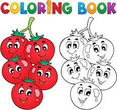 coloring book vector set