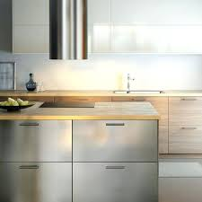stainless steel countertops ikea stainless butcher block