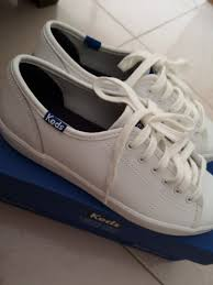 keds white kickstart leather size 35 women s fashion shoes sneakers on carou