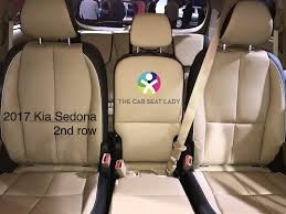 kia sedona 2016 newer connecting 2nd row center seat belt
