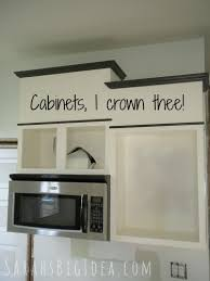 Adding Crown Molding To Kitchen Cabinets Awesome Design