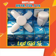 HÀNG CHÍNH HÃNG] Bóng đèn led 4 cánh mini 40w siêu sáng - bảo hành 1 năm