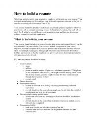 How To Build A Resume Simple Build Up Resume In College Step Templates How Fearsome To A From