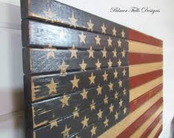 wooden american flag wall hanging v sanctuary
