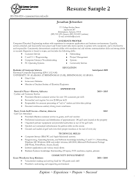 Sample College Student Resume Printable Objective Statement Examples