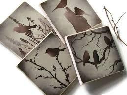 Decorative Tile Coasters 100 best Crafts Ceramic Tile Art images on Pinterest Vinyl crafts 73