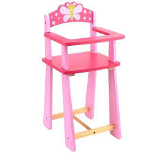 wooden dolls high chairs you me doll highchair toys r us wood toy chair