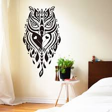 bedroom excellent cool wall decorations wall decoration ideas with paper owl art design wall decoration