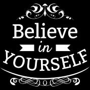 Believe In Yourself Text Sprüche Lätzchen Spreadshirt