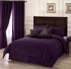 Plum Colored Bedrooms Sweet Violet Bedroom Curtain Photos Collection Astonishing