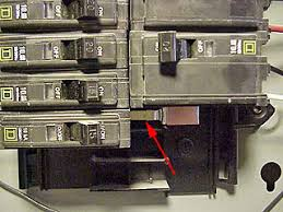 how to install a new circuit breaker in a main or sub panel one of two hot bus bars in square d circuit breaker panel