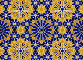 Morrocan Pattern New Moroccan Seamless Pattern Zellige Graphic Patterns Creative Market