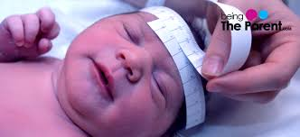 Newborn Baby Head Circumference Chart Baby Head Circumference Charts Being The Parent