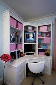 white corner desk. Wonderful Corner White Corner Desk With Shelves 15 To Corner Desk