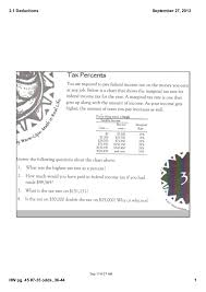 2 1 Deductions Notes
