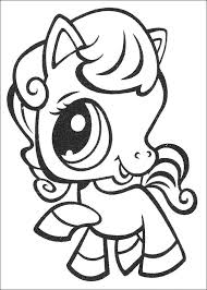 Small Picture Kids n funcom 50 coloring pages of Littlest Pet Shop