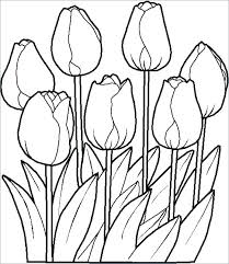 Free Flower Coloring Pages Nemurenai Beautiful Folwer 2018