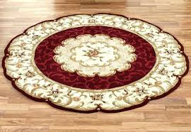 home interior special 4 foot round rugs safavieh california cozy solid mushroom rug 9