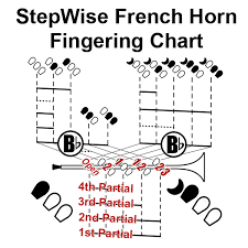 French Horn Fingering Chart And Flashcards Stepwise
