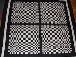 312 best I want to make 3D QUILTS!! images on Pinterest | Black ... & The quilt is an illusion Adamdwight.com