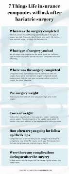 Original medicare may cover some weight management services but doesn't generally cover most weight loss programs, services, or medications. Life Insurance After Bariatric Surgery Complete Guide Updated 2020