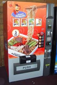 Ramen Noodle Vending Machine