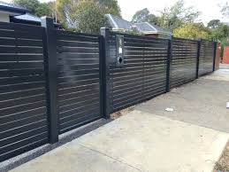 metal fence panels home depot. Black Iron Fence Metal Panels Fencing  The Home Depot