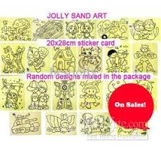 Sand Card 2019 Cards For Color Sand Art_hot Selling Sand Art Sticker Card From